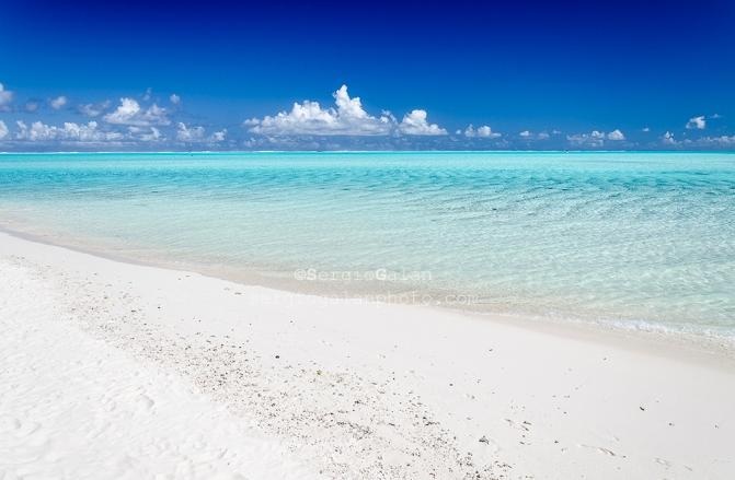 Matira Beach. Bora Bora. French Polynesia.